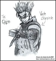 The Stampede Vash From Trigun by sutekihime