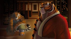 find my tigress - kung fu panda by Rocio-Aj