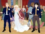 Sherlock BBC Wedding by suburbantimewaster