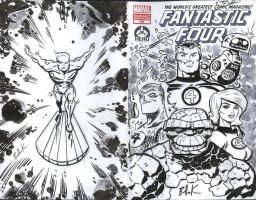 The Fantastic Four 100: HERO Initiative Project by DaveBullock
