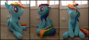 Another Giant Dashie by LumenGlace