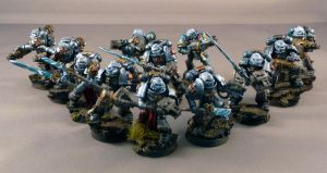 Grey Knight Purifiers by Rogue428