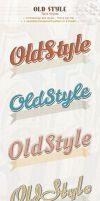 Old Style Text Styles by PixFairy