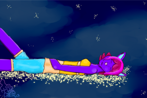 At: Bed of Stars by Notebook-Queen