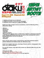 Indie Artist Booth for Otaku Expo Reload 2012 by krnozine