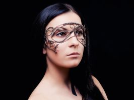 Morgan le Fay wire mask by UrsulaOT