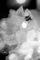 Apophyllite Black and White by Mountaineer47