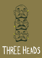 The Three Heads by selaluff