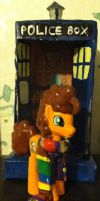 Fourth Doctor blind bag pony by CaliforniaHunt24