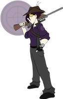 The Purple Sniper by Hiss-graphics