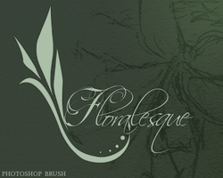 Floralesque - Photoshop Brush by Aeorys