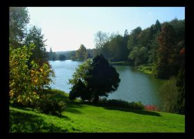 Stourhead Lake 2 by crystalfalls