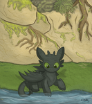Toothless by Sunnynoga
