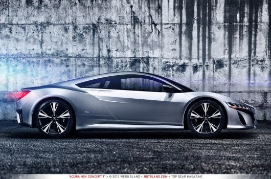 Acura NSX Concept 1 by notbland