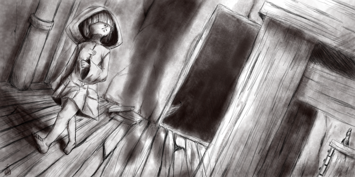 Little Nightmares [Sketch] by NiceShadow