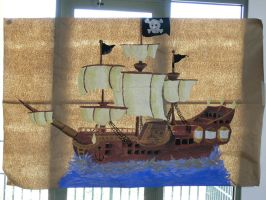 Pirate Ship in the Window by TimelordWitch10