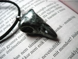Bellatrix Lestrange's necklace by snowyblackrose