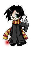 chibi Potter by 2LoveGir