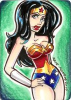 Wonderwoman card 2 by mainasha