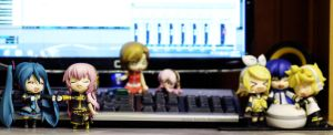 Nendoroid: Vocaloids by Itchy-Hands