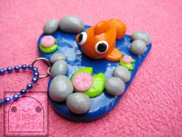 Goldfish Pond Necklace Preview 2 by efeeha