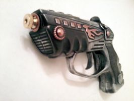 Cap gun front detail by VPhilly