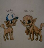 GF: Dipper and Mabel Pines by KelseyEdward