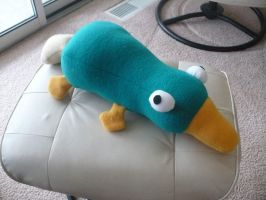 Perry the Platypus by craftybird