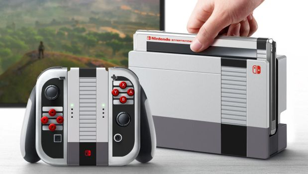 Switch NES dock concept by cgfelker