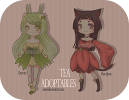 tea adoptables /CLOSED/ by levandulei