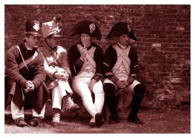waiting Waterloo battle by rhipster