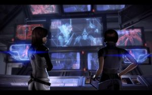 ME3 Endings - Control - Miranda and Oriana by chicksaw2002