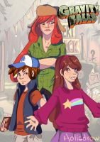 welcome to gravity falls by Holicdraw34