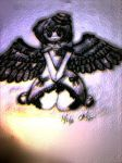 gothic angel by tahncreole020
