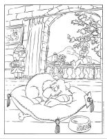 Raccoons Colouring Page 2 by Damien-Mildury