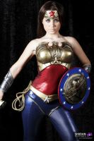 Wonder Woman Injustice cosplay by joulii91