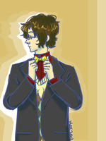 Bow Ties Are Cool by Thystle