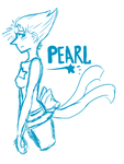 ::Commission:: Pearl Sketch by Jaysonsays