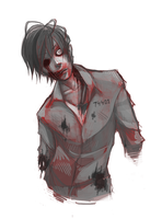 Zombie doodle by Naimane