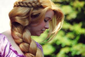 Simply, Rapunzel. by KennadeeK