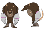 TMNT OC: No-Name Mole by WightShadoo