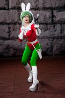 Jaxxon cosplay by RebelAllianceBarbie