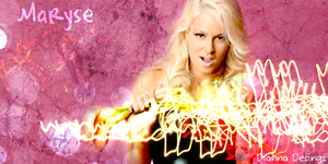 Maryse Sig by TheRealQueenOfChaos