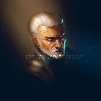 Geralt of Rivia by DonTranes