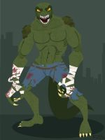 Gotham's Rogues: Killer Croc by rickytherockstar
