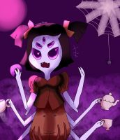 .:Muffet:. by Veronica-Draws