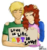 Liam and Lyla by ThatArtKid