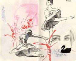 Black Swan Ballerina Studies by Lainiexox