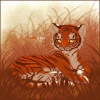 Tiger Kitty by tigon