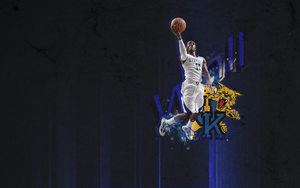 John Wall Wallpaper by KevinsGraphics